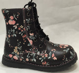 Clarks Delia Shoe in Black Floral - Sweet Thing Baby & Childrens Wear