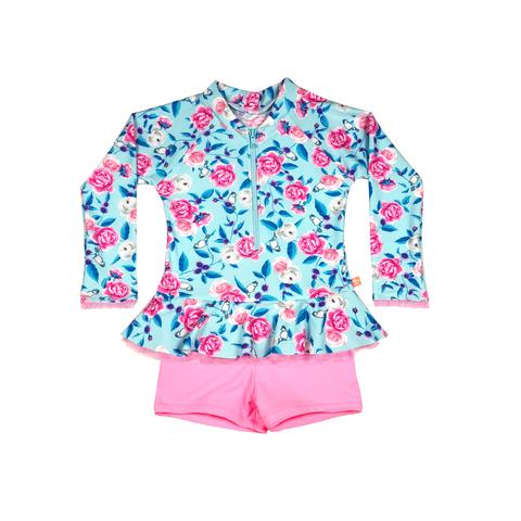 Salty Ink Miss Bouquet Playsuit (Size 0-5)
