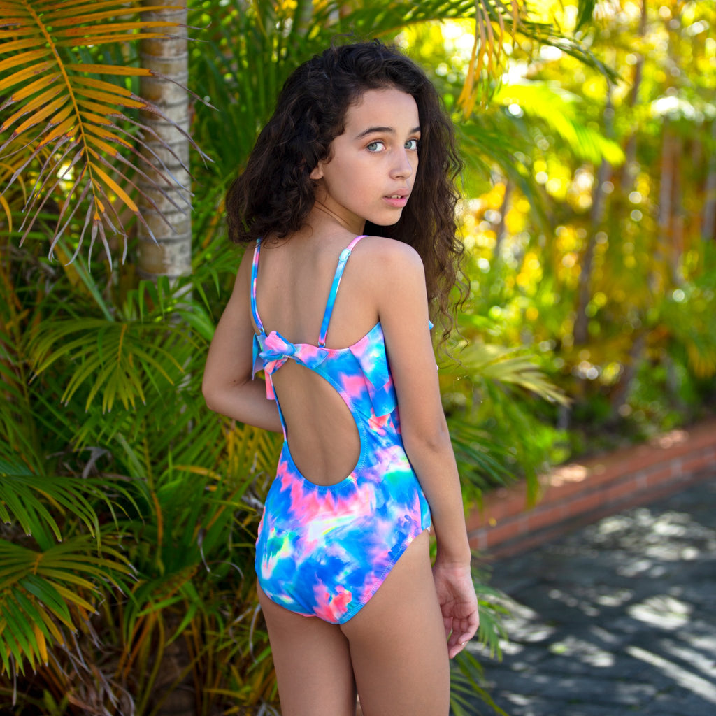 Salty Ink Summer Crush Tube Tank (Size 8-14)