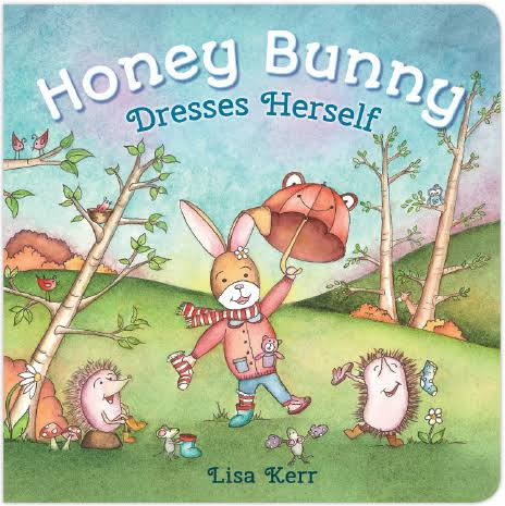 Honey Bunny Dresses Herself Book
