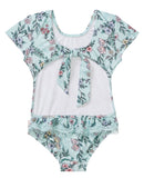 Seafolly Mystical Garden Cut Out Tank  - Multi (Size 2-7)