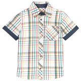 Petit Lem White Check S/S Shirt - Sweet Thing Baby & Childrens Wear
