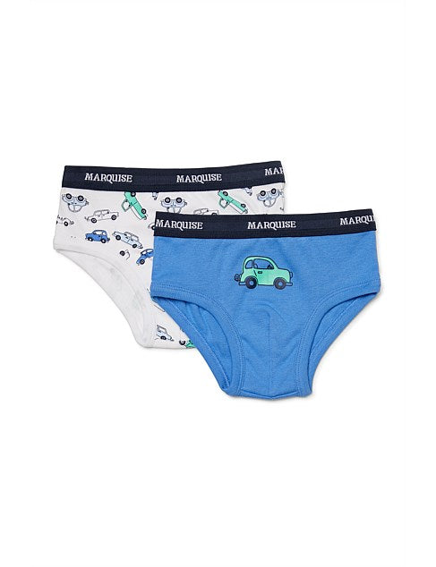Marquise Cars Underwear - Blue/ Car Print