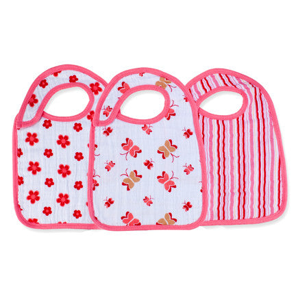 Aden & Anais Princess Posie Classic Snap Bibs - Sweet Thing Baby & Childrens Wear