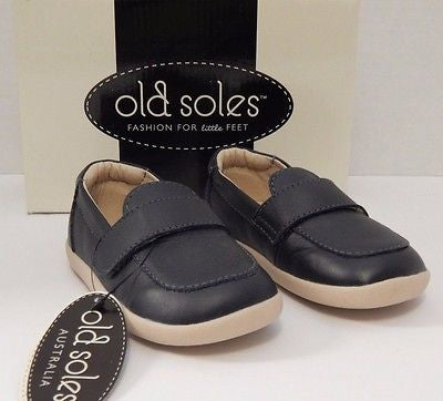 Old Soles Business Loafer in Navy - Sweet Thing Baby & Childrens Wear