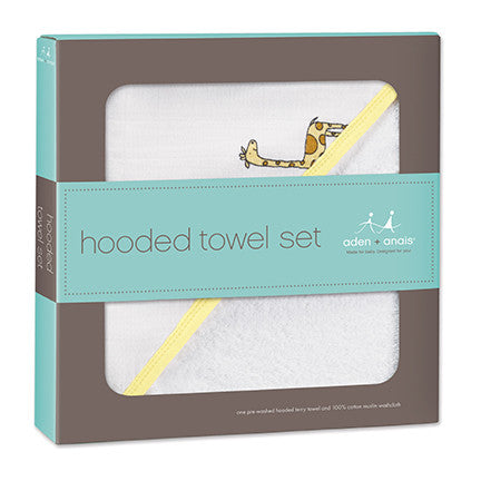 Aden & Anais Jungle Jam Hooded Towel Sets - Sweet Thing Baby & Childrens Wear