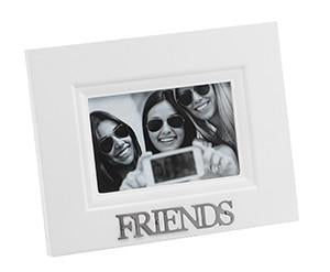 "Stylesetter Frame White 'Friends'  4 x 6"" - Sweet Thing Baby & Childrens Wear"