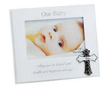Stylesetter 'Baby' Frame with Metal Cross 6 x 4