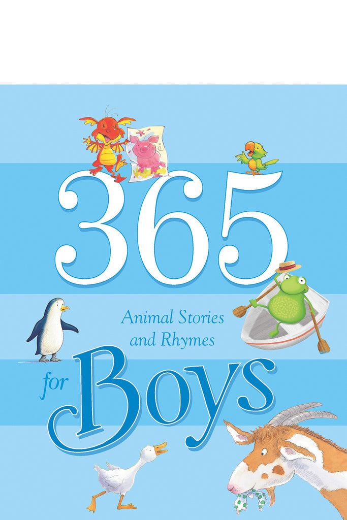 365 Animal Stories and Rhymes for Boy