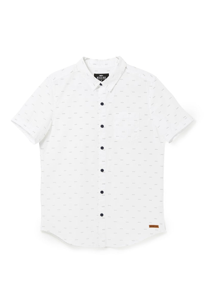 Mossimo Boys Wardlow ss shirt - White