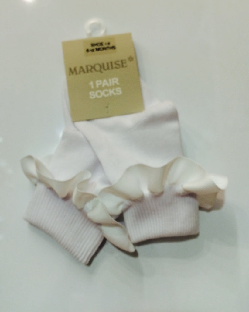 Clothing, Shoes & Accessories New Marquise Girls Knitted Ribbon Socks