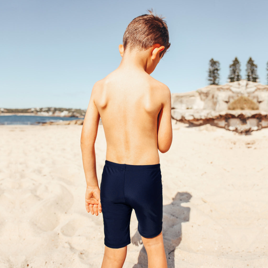 Salty Ink Little Mister Jammer in Navy (Size 4-7)