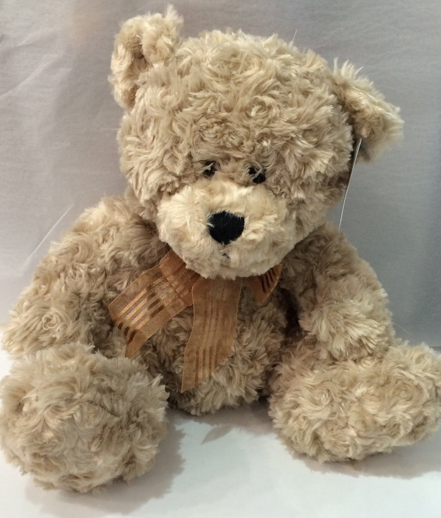 Fuzzy Factory- Connor Bear-Beige-42cm - Sweet Thing Baby & Childrens Wear