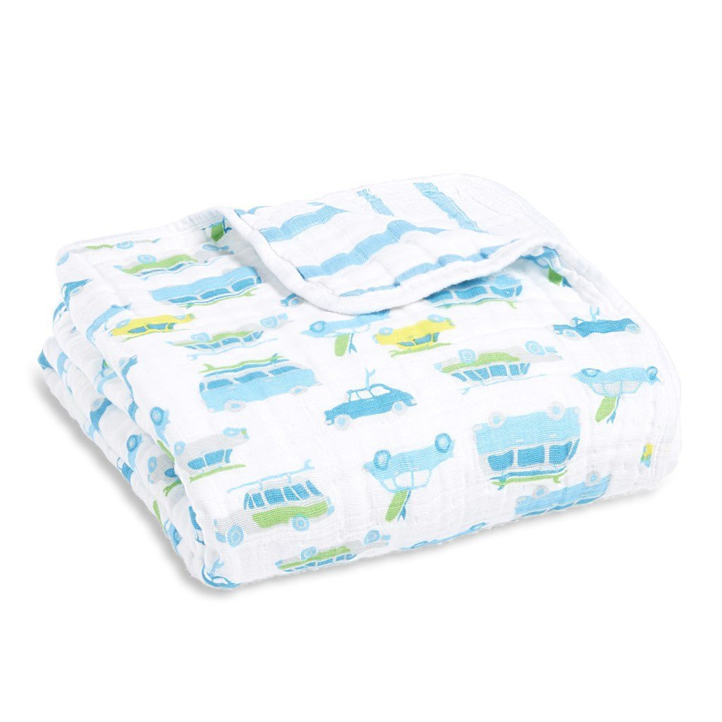 Aden & Anais Classic Dream Blanket - Chasing Waves