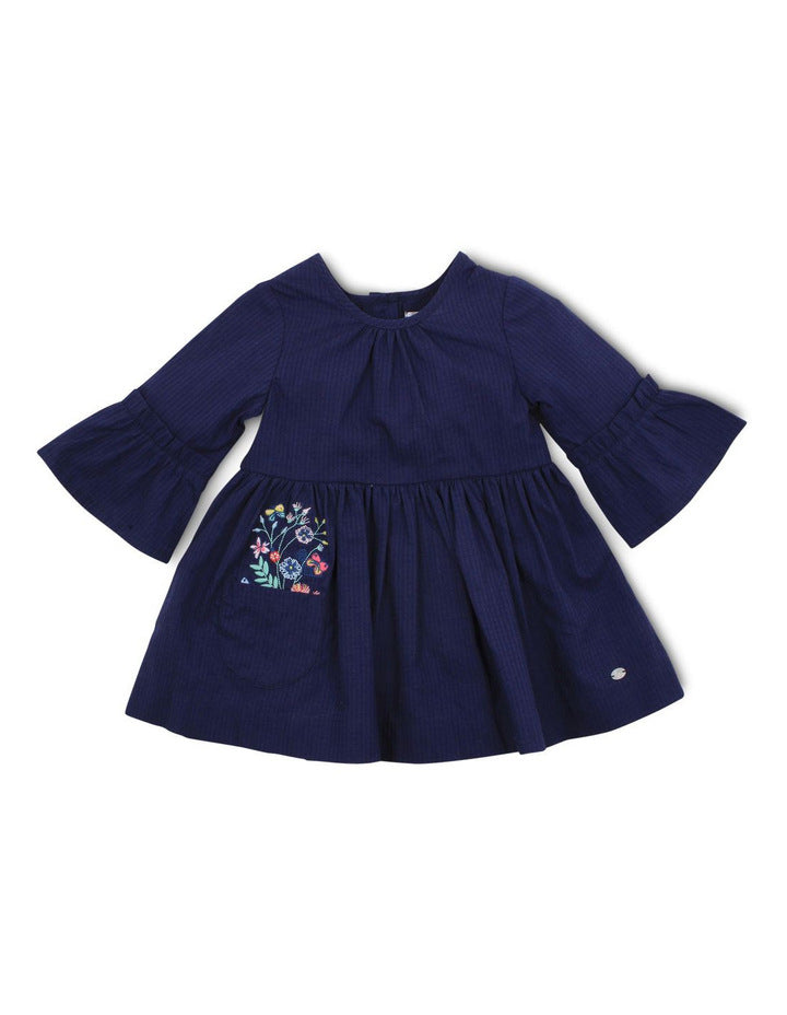 Bebe Olivia Embroidered Dress
