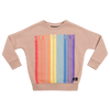 Rock Your Baby Retro Skateboarding Sweatshirt - Dark Sand