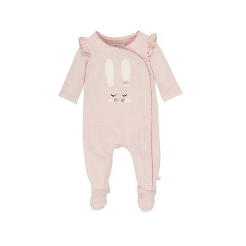 Fox & Finch Baby Bunny Stripe Romper - Eloise Stripe
