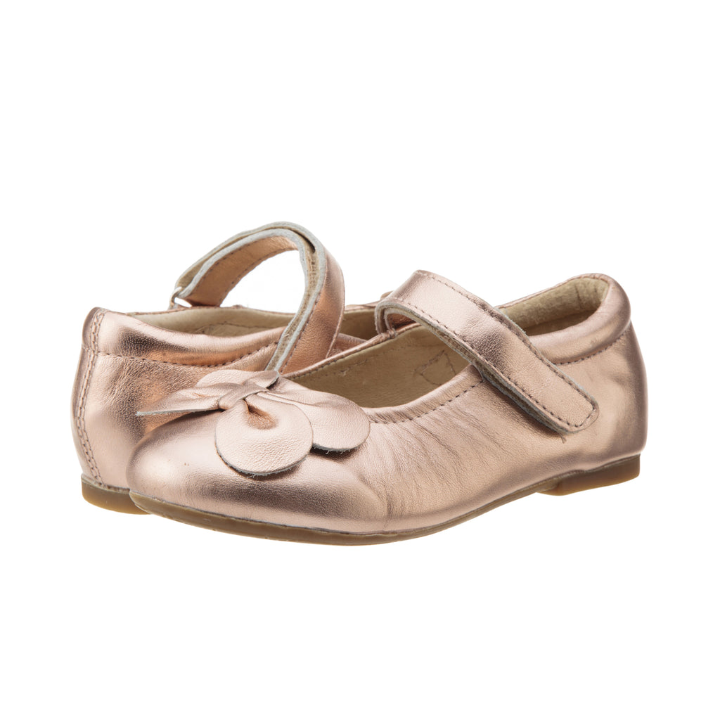 Old Soles Flower Girl Shoe in Copper