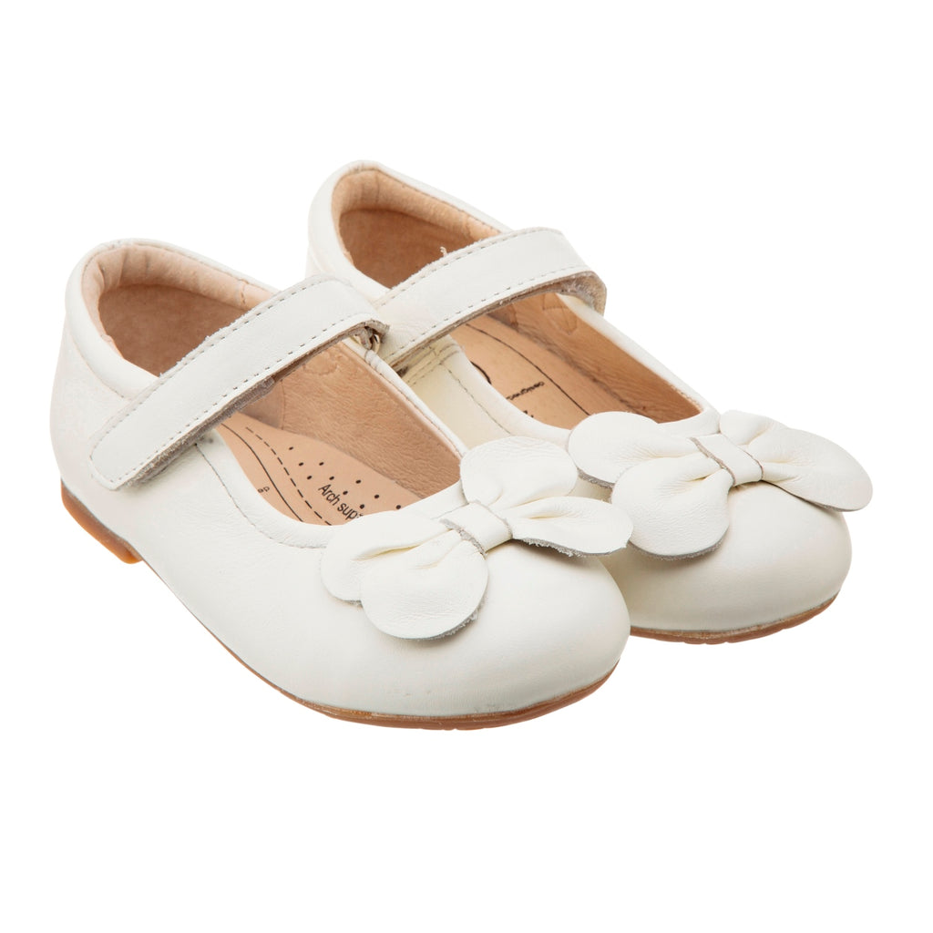 Old Soles Flower Girl Shoe in White
