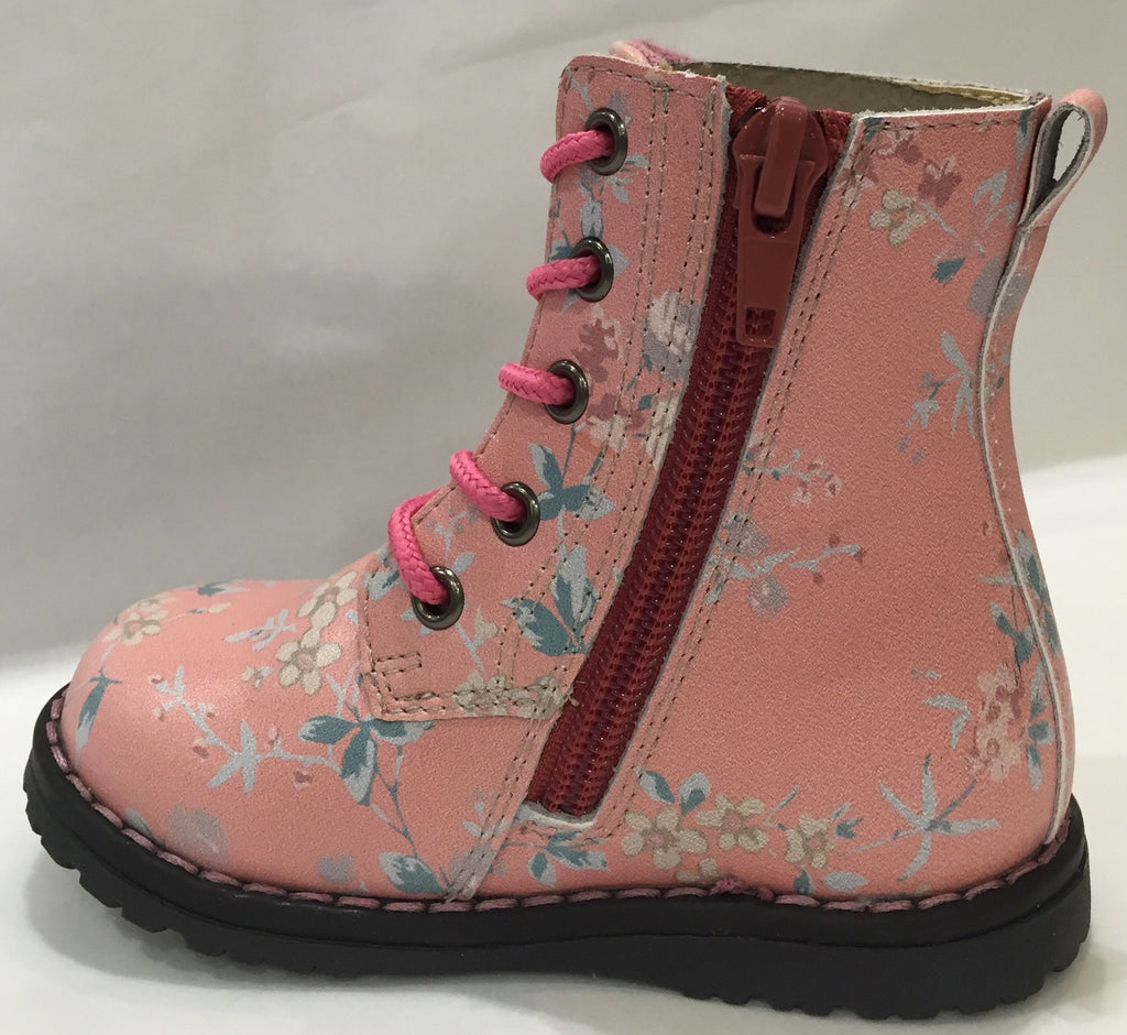 Clarks Delia Shoe in Pink Floral - Sweet Thing Baby & Childrens Wear