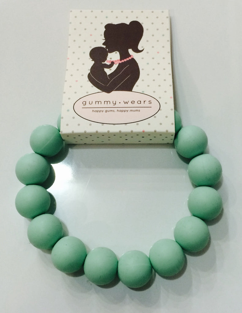 Gummy Wears Bracelet in Mint (Green) - Sweet Thing Baby & Childrens Wear