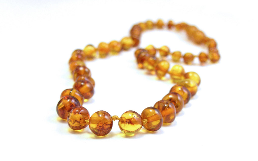 Amber Teething Baby Necklace - Sweet Thing Baby & Childrens Wear