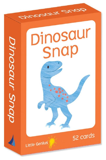 Parragon little genius  Snap cards game Dinosaur theme