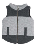 Korango Tiger Padded Knit Vest - Charcoal
