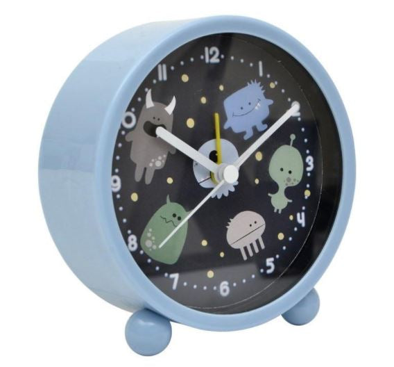 Bobble Art Alarm Clock - Monsters