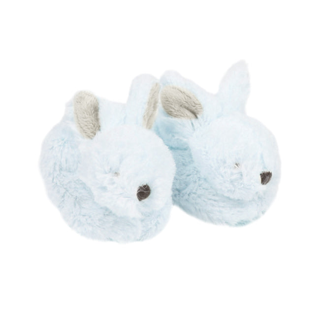 Bebe Pale Blue Little Bunny Slippers