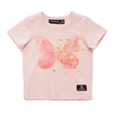 Rock Your Baby Butterfly Kisses Baby T-Shirt (Size 00-2)
