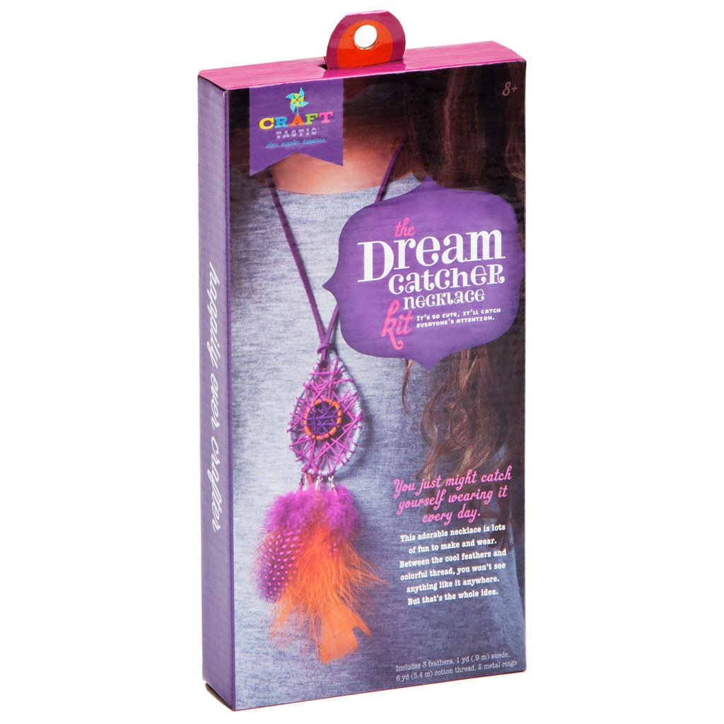 Craft-tastic Dream Catcher Necklace Kit