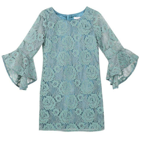 Designer Kidz Cynthia Lace Dress