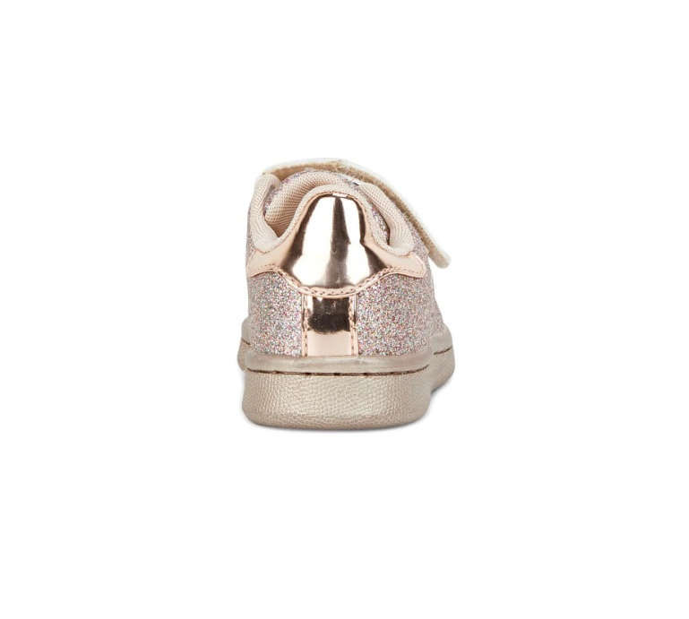 Clarks DISCO JNR Rose Gold Glitter