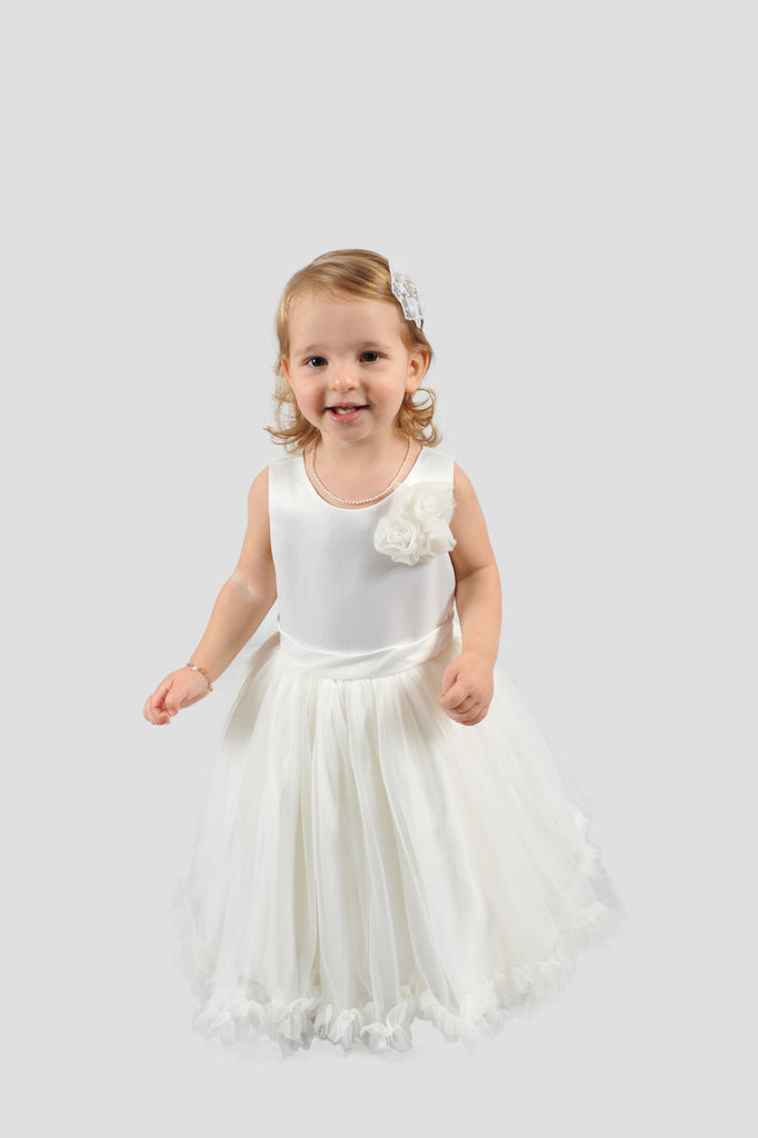 Vintagespired White & Ivory Pettidresses - Sweet Thing Baby & Childrens Wear
