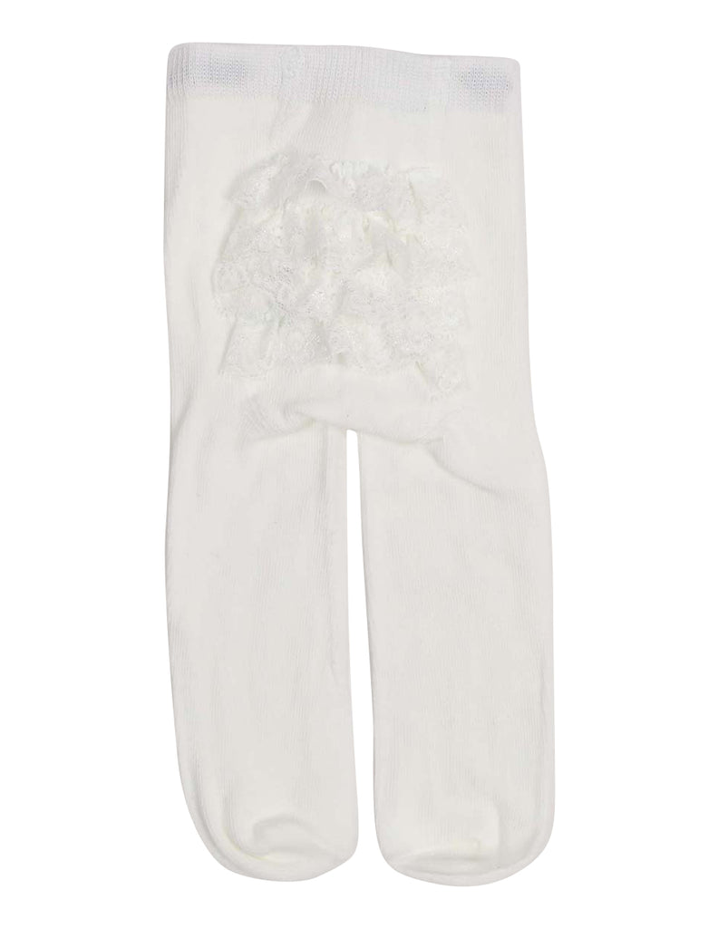 Korango Essentials Cotton Tight with Frilled Backside - Ivory