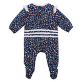 Fox & Finch Nordic Romper- Navy Floral