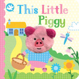 Finger Puppet Book-This Little Piggy