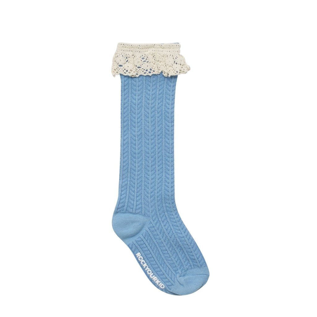 Rock Your Kid Frill Socks in Blue