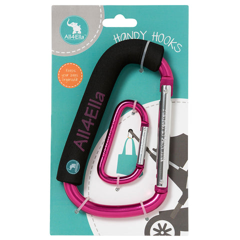 All4Ella 2 Pack Reversible Banbana Bibs- Bow