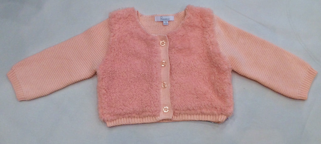 Plum Baby Pink Knit Bolero Cardigan - Sweet Thing Baby & Childrens Wear