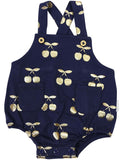 Korango Cherry Sunsuit - Navy