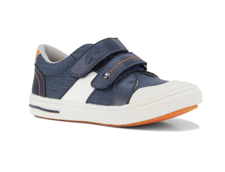 Clarks JUNIOR in Navy