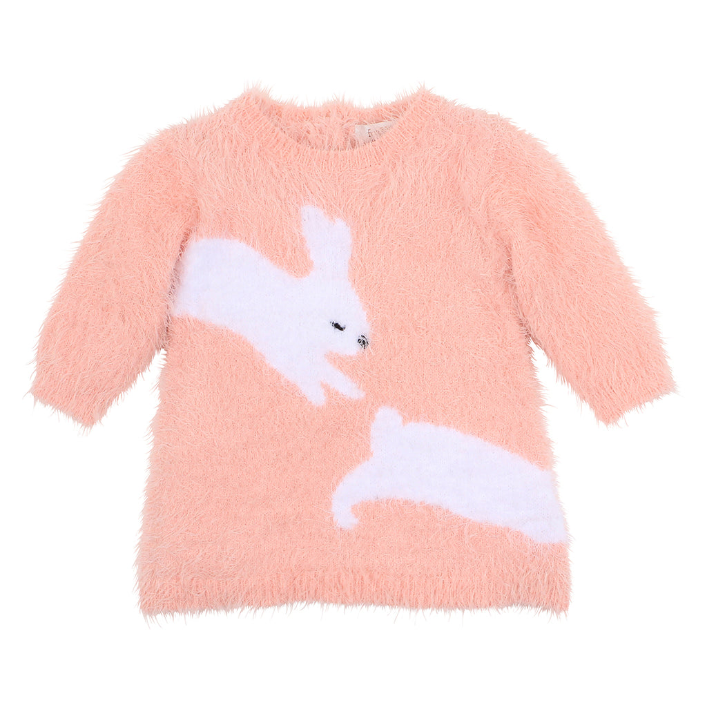 Fox & Finch Hop Bunny Knit Dress