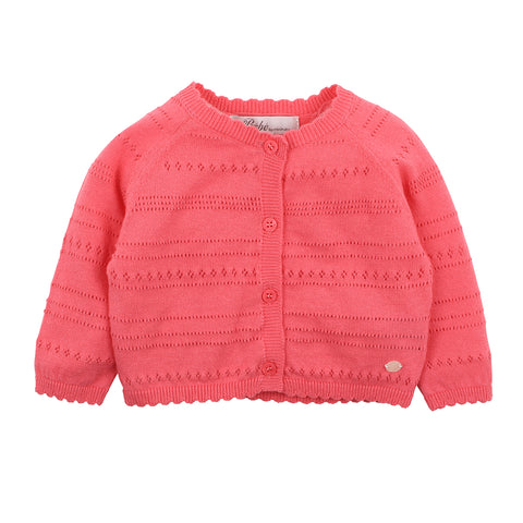 Bebe George Knit Jacket in Navy (Size 3M-5Y)