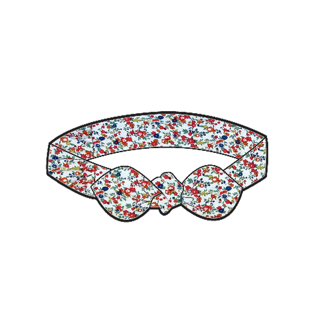 Love Henry Girls Headband - Christmas Floral
