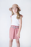 Love Henry Girls Charlotte Skirt - Red Gingham (Size 3-12)