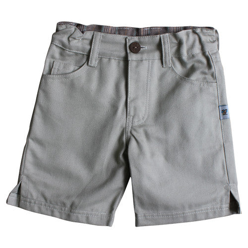 Daisy & Moose Light Grey Shorts - Sweet Thing Baby & Childrens Wear