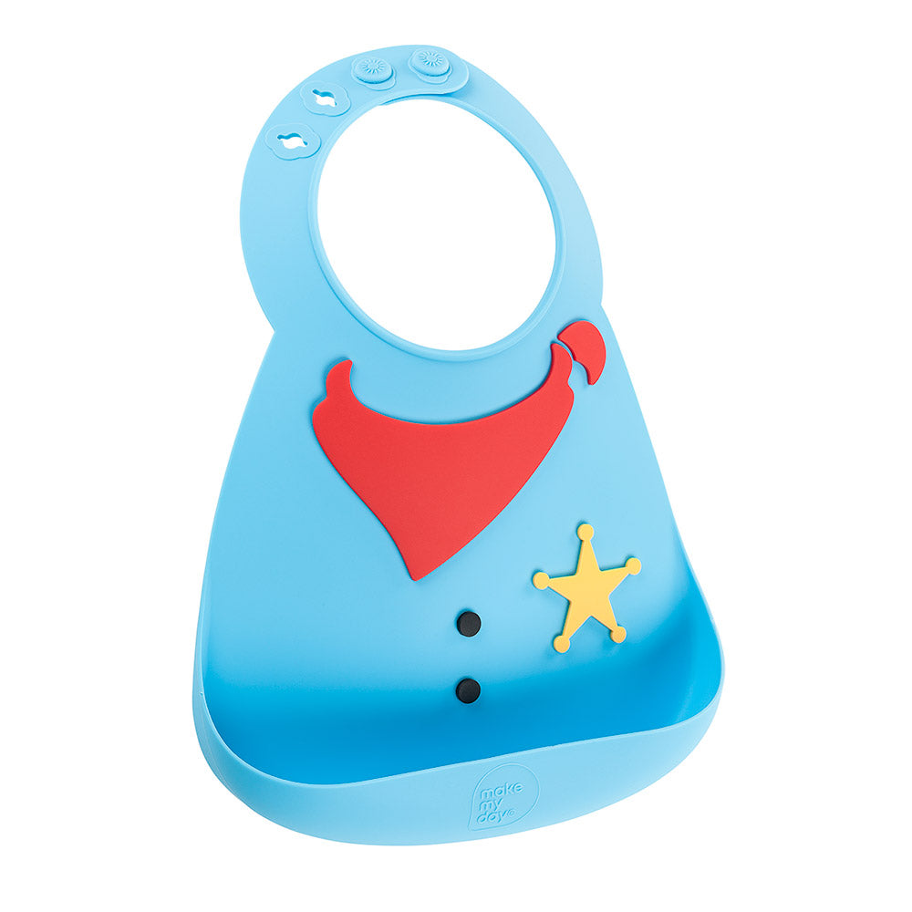 Make My Day Baby Bib - Sheriff