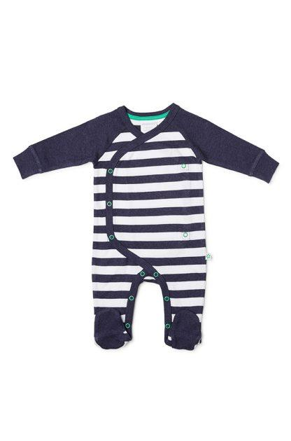 Marquise Navy/White Stripe Studsuit